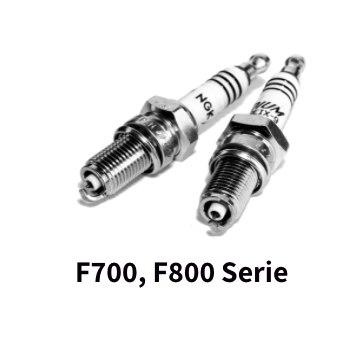 Bougie NGK F700 en F800