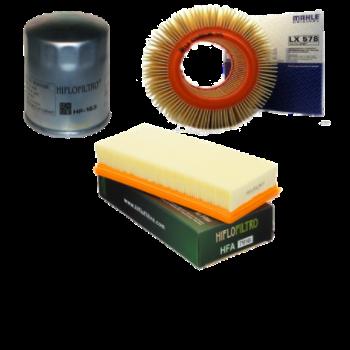 Luchtfilter en Oliefilter BMW K75, K100, K1, K1100