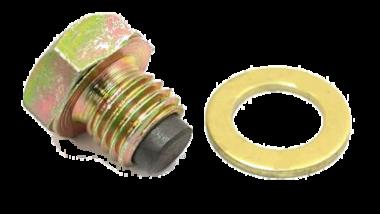Aftapplug M12 x 1,5 met magneet