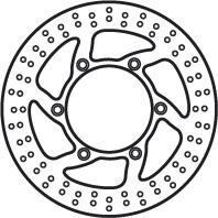 Remschijf (star)  Lucas MST230
