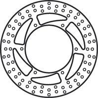 Remschijf (star)  Lucas MST232