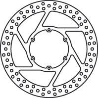 Remschijf (star)  Lucas MST337