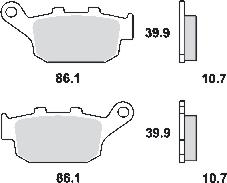 Remblokkenset MCB585