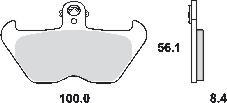 Remblokkenset MCB680SV