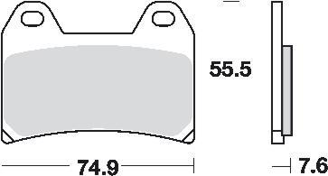 Remblokkenset MCB698
