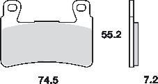 Remblokkenset MCB703 SRQ