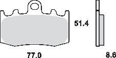 Remblokkenset MCB748SV