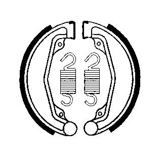 Remschoenenset  MCS803