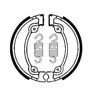 Remschoenenset  MCS805