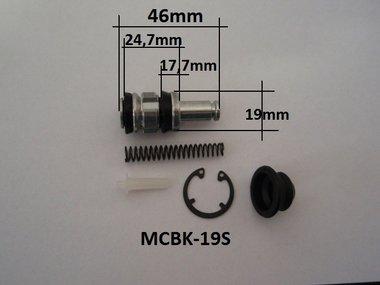 Revisieset hoofdremclinder 19 mm