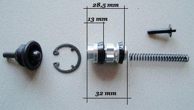 Revisieset hoofdremclinder radiaal 19 mm
