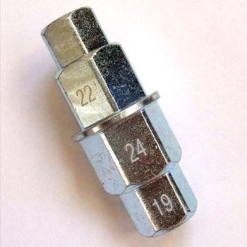 Imbus sleutel 17/19/22/24mm