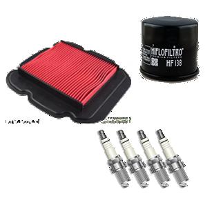 Onderhoudspakket GSX-R1000 K1,K2,K3,K4