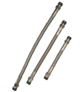 Flexibele roestvrij stalen remleiding, lengte 20 cm