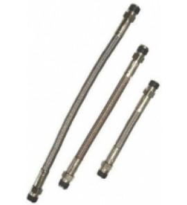Flexibele roestvrij stalen remleiding, lengte 65 cm