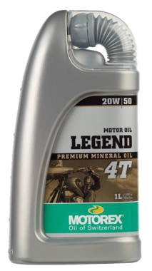 20W50  Motorex Legend 4T  1 Liter