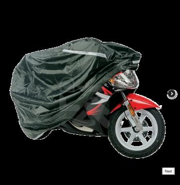 Motorparkeerhoes MAD Rain maat XL (750cc tot 1500cc)