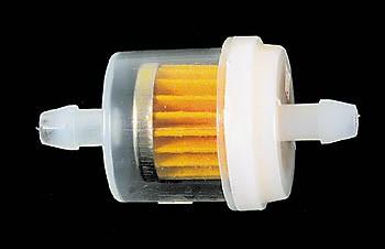 Benzinefilter rond 6mm aansluiting