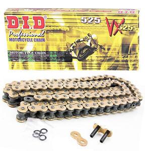 DID Ketting 520 VX2 G&B 108 pins, met klinkschakel