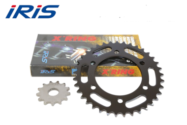 Kettingset CB 600 F Hornet (PC41) ook ABS  07-13