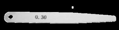 Voelermaat 0.30 (speling uitlaatklep BMW Boxer)