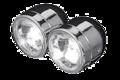 Dubbelkoplamp-chroom
