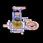 magnetische aftapplug M14